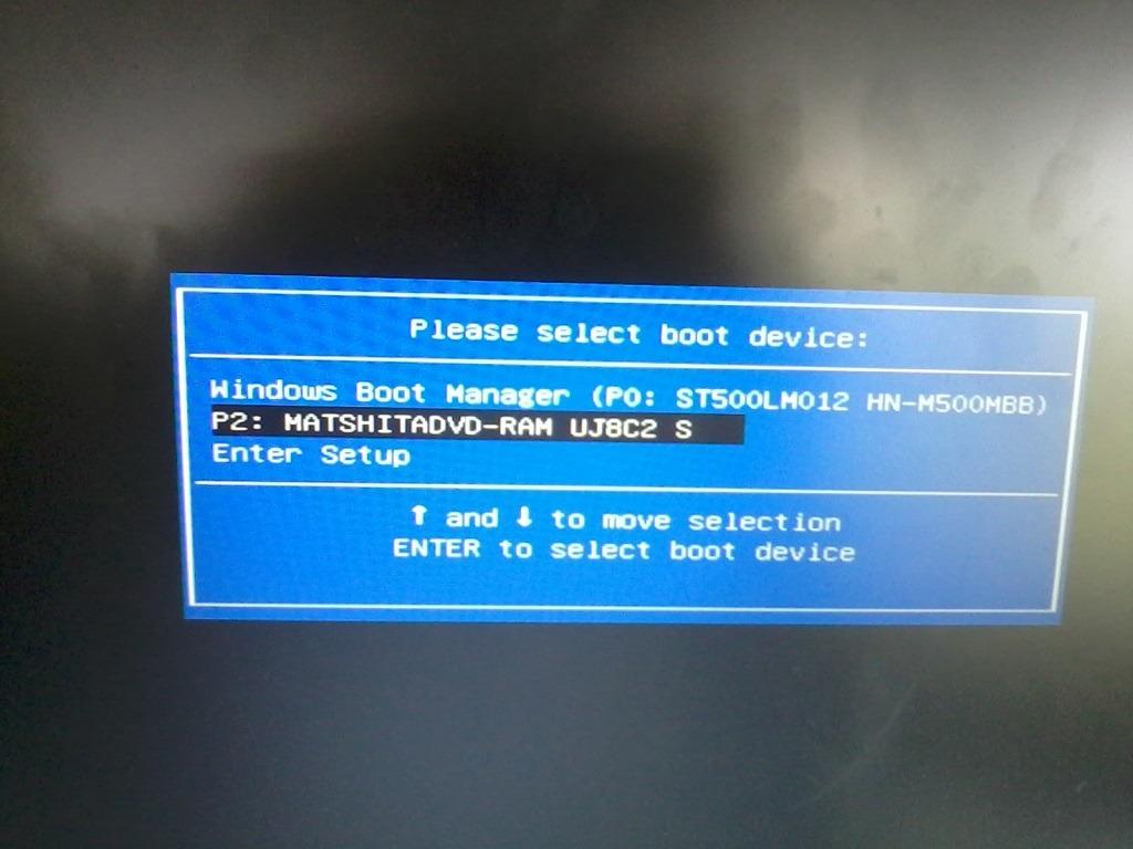 boot asus laptop